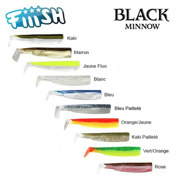 Black Minnow ricambi mm 120