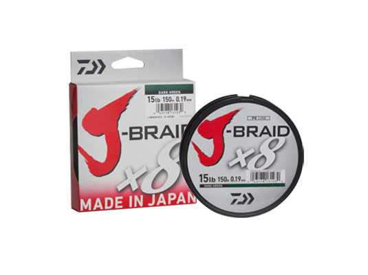 J-Braid X8 Dark Green 150m